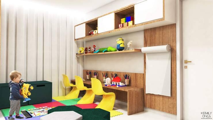 Brinquedoteca :   por Kemily Onça - Studio de Arquitetura