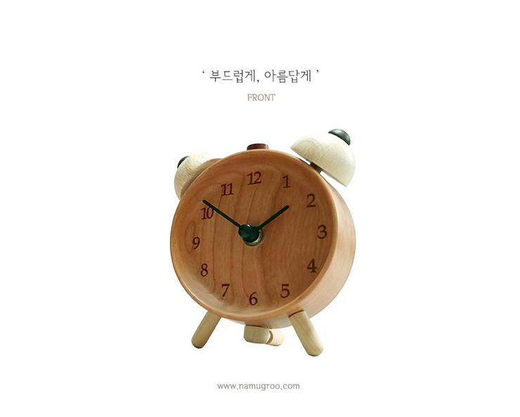모던빈티지 수공예 원목시계: 나무그루의  사무실 공간 & 가게