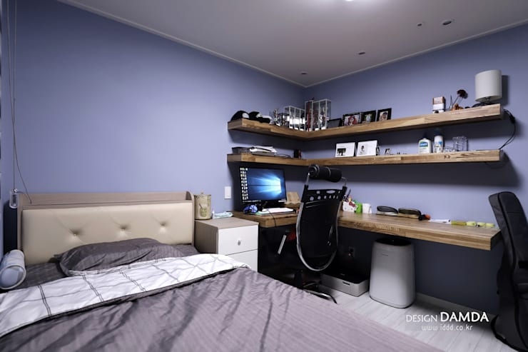 Multimedia-Raum von 디자인담다