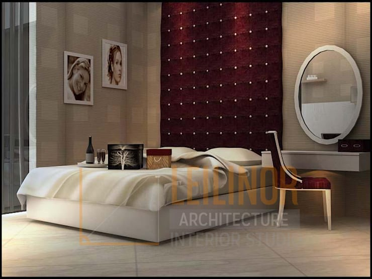 modern Bedroom by CV Leilinor Architect
