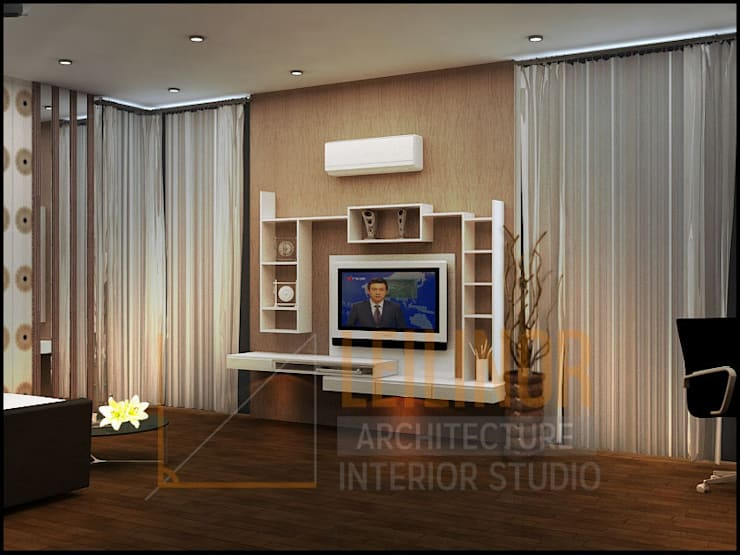 modern Living room by CV Leilinor Architect