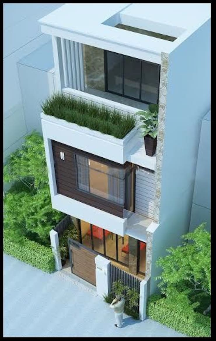 Kiến trúc nhà ống đẹp:   by Kiến Trúc Bình Dương