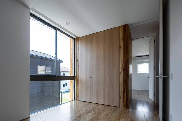 松岡淳建築設計事務所의  아이방