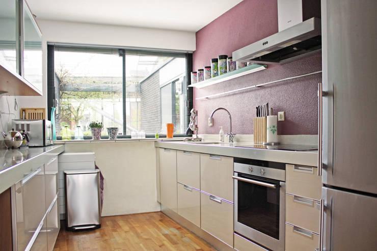 De keuken:  Keuken door Regina Dijkstra Design, Eclectisch