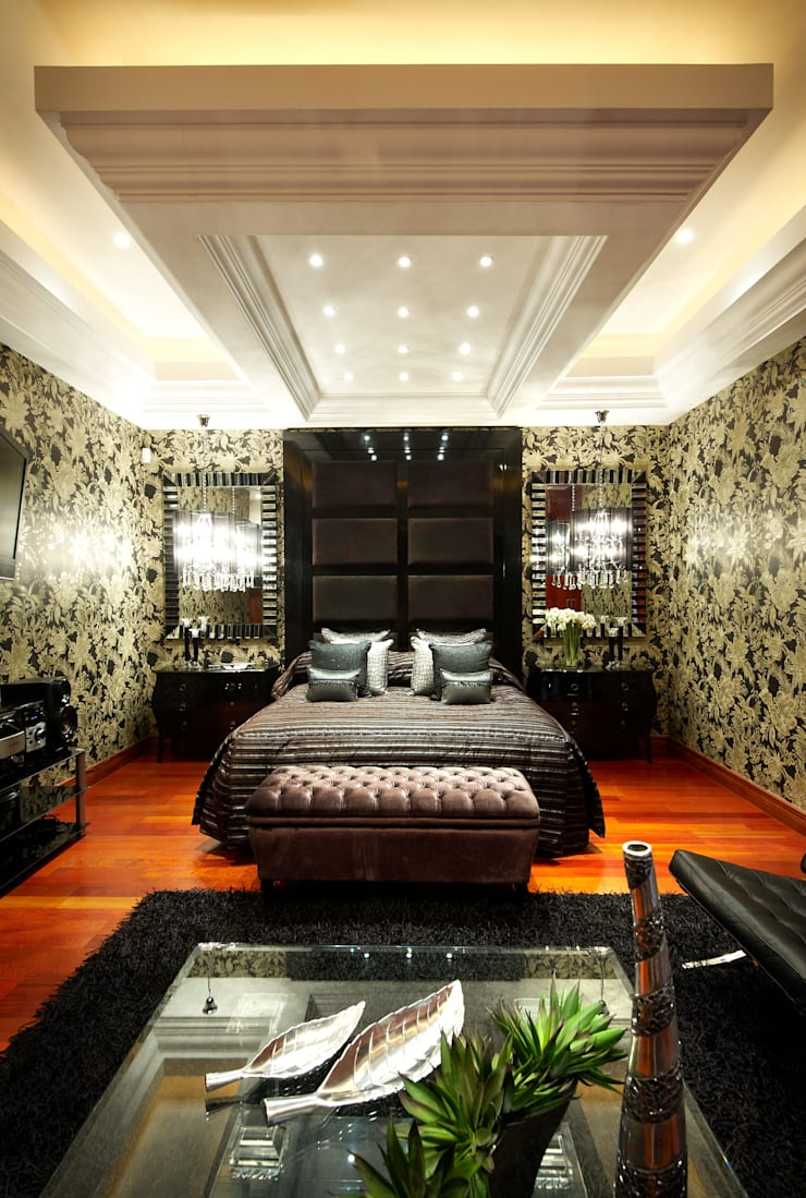 Steenberg—Meyersdal: eclectic Bedroom by Gotz Consulting & Interiors