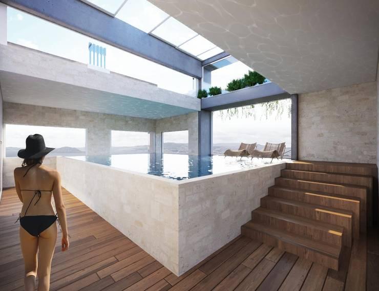 Área de lazer:   por Rodrigo Santos Arquitetura