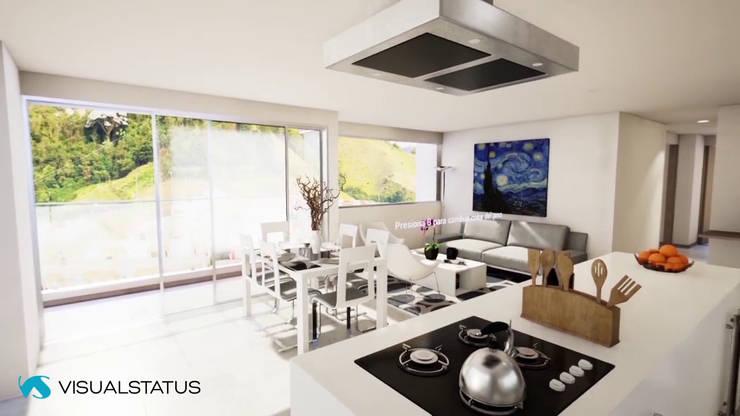 INTERACTIVE ARCHVIZ VR :  de estilo  por visualstatus