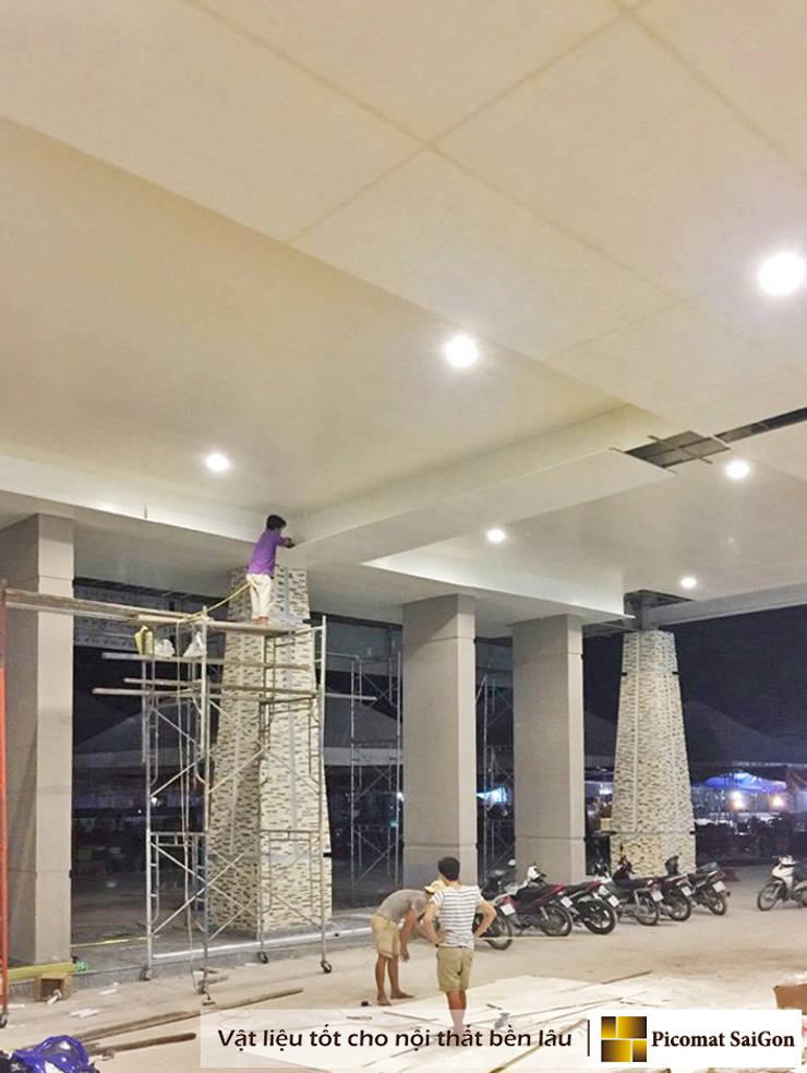 Dự án ốp trần nhựa Trung tâm triễn lãm hội nghị Quốc tế Việt Nam (Itecc):  Mái by Picomat Sài Gòn