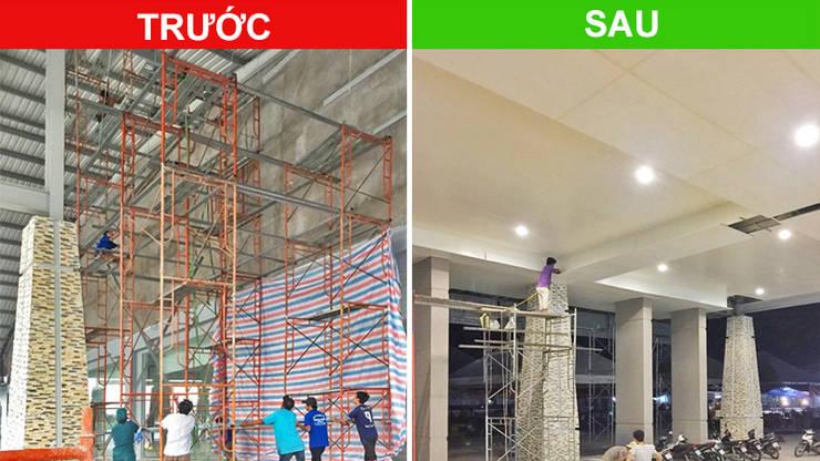 Dự án ốp trần nhựa Trung tâm triễn lãm hội nghị Quốc tế Việt Nam (Itecc):   by Picomat Sài Gòn