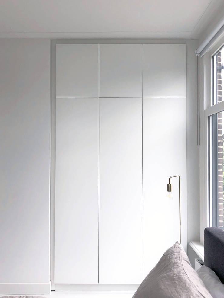 Maatwerk meubilair:  Slaapkamer door studiomaudy