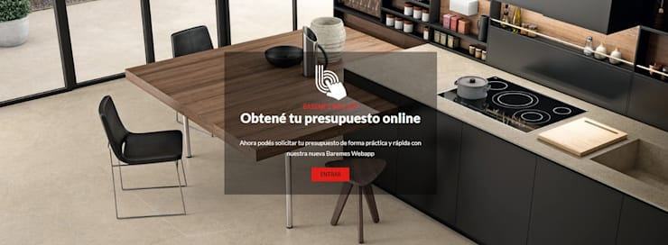 Presupuestá Online la mesada que estás soñando: Cocinas de estilo  por iTOPKer by INALCO Argentina