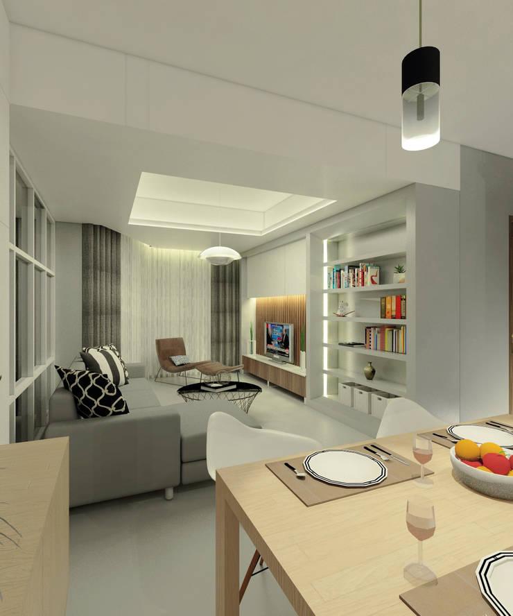 Project Apartemen Taman Anggrek:  Ruang Makan by PT. Magnolia Adi Sentosa
