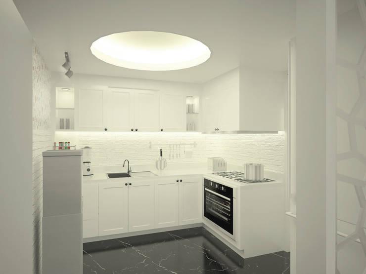 Project Apartemen Taman Anggrek:  Dapur by PT. Magnolia Adi Sentosa