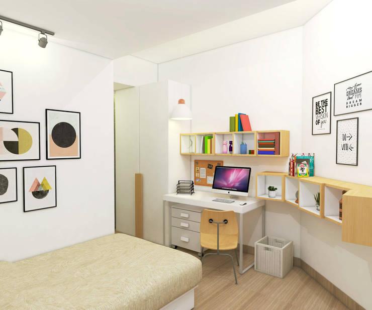 Project Apartemen Taman Anggrek:  Kamar Bayi & Anak by PT. Magnolia Adi Sentosa