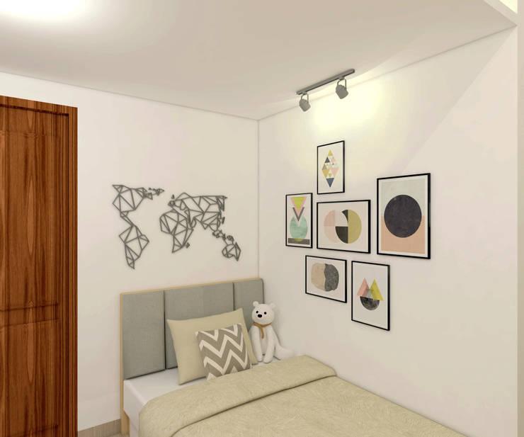 Project Apartemen Taman Anggrek:  Kamar Tidur by PT. Magnolia Adi Sentosa
