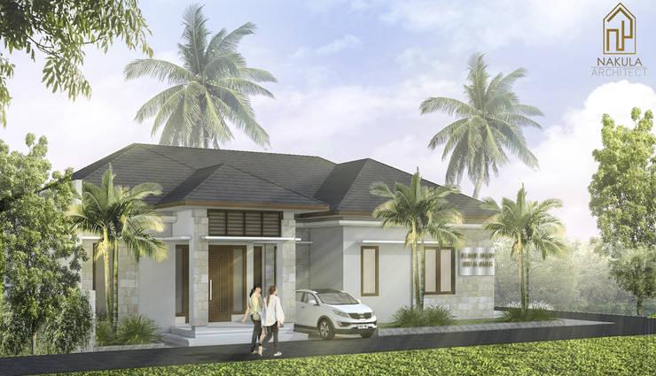 Rumah Teluk Naga:   by nakula arsitek studio