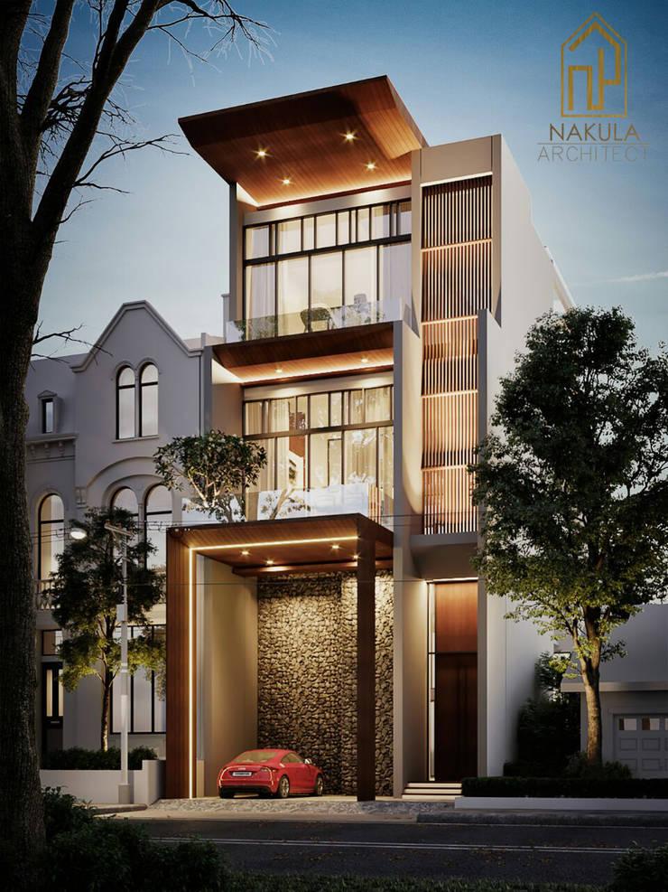 Rumah Pak Welki (Exterior):  Rumah by nakula arsitek studio
