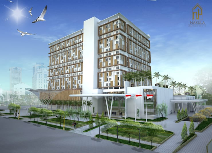 Hotel Bintang 5 Fatmawati:  Hotels by nakula arsitek studio
