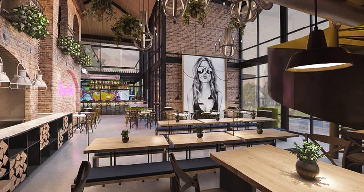 Cafe Sudestada:  Restoran by nakula arsitek studio