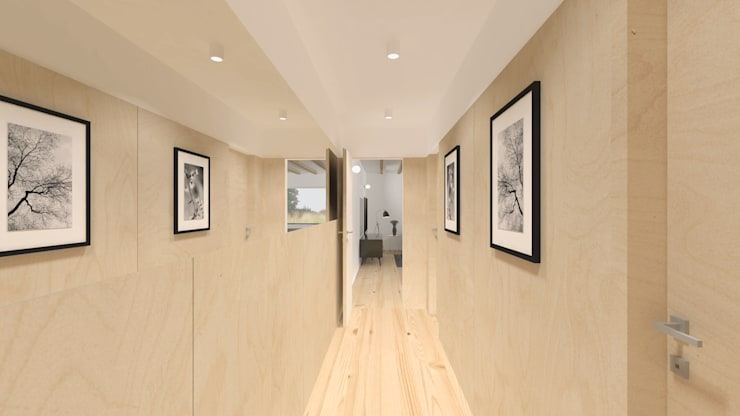 Imagem da circulação: Corredores e halls de entrada  por Estúdio AMATAM