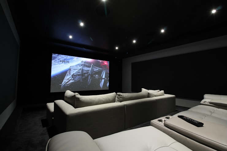 11.2 Channel Surround Sound Cinema:  Electronics by Projector & Sound Services (PTY) Ltd