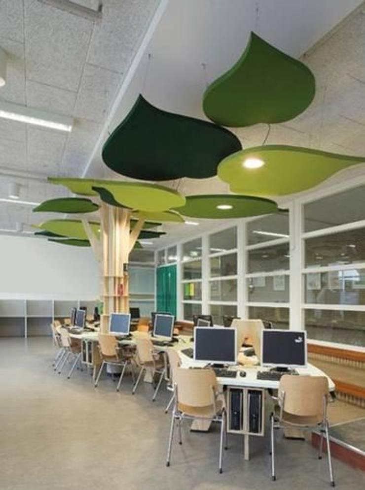 숲속 같은 힐링공간: 담음건축디자인주식회사의  실내 정원