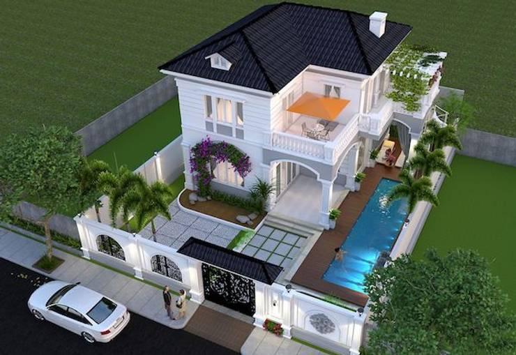 Dự án thiết kế biệt thự phố 2 tầng– Anh Quang (Đà Nẵng):   by Biet Thu Pho Dep