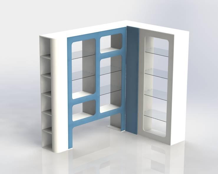 Diseño Vitrinas:  de estilo  por MARROOM | Diseño Interior - Diseño Industrial