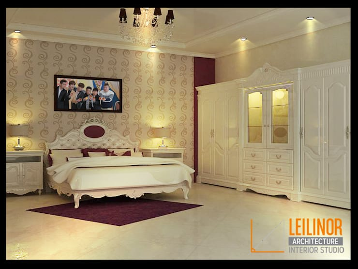 Bedroom by CV Leilinor Architect