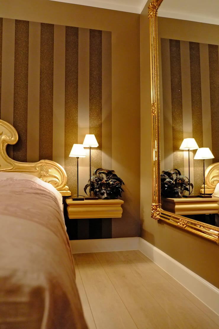 Slaapkamer met uitstraling:  Slaapkamer door De Heeren
