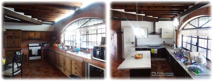 Remodelación de Residencia en Vista Real:  de estilo  por NUV Arquitectura