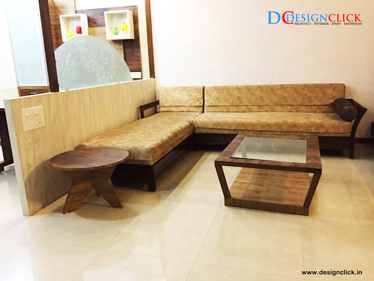 Livingroom & Dining room design idea :   by Designclick