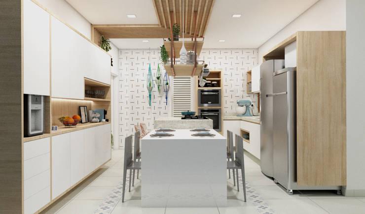 Cozinha | Residencia A+M : Cozinhas  por Confi Arquitetos