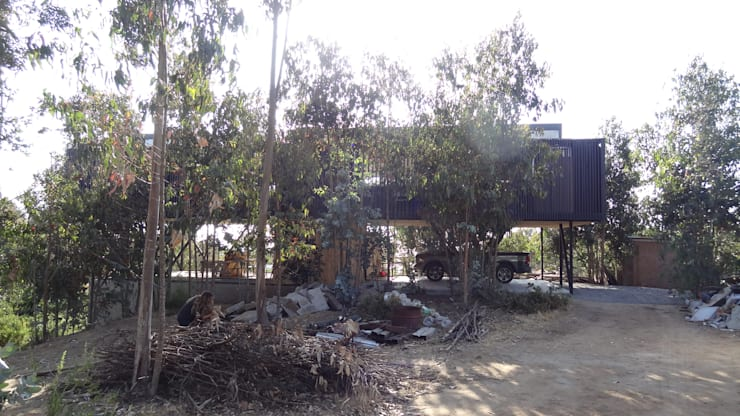 Casa QV: Condominios de estilo  por m2 estudio arquitectos