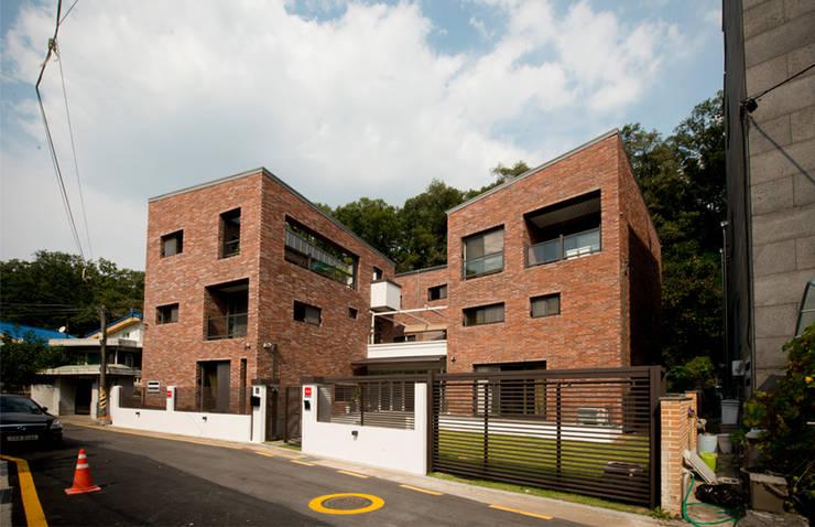 Casas de estilo rural de HBA-rchitects Rural
