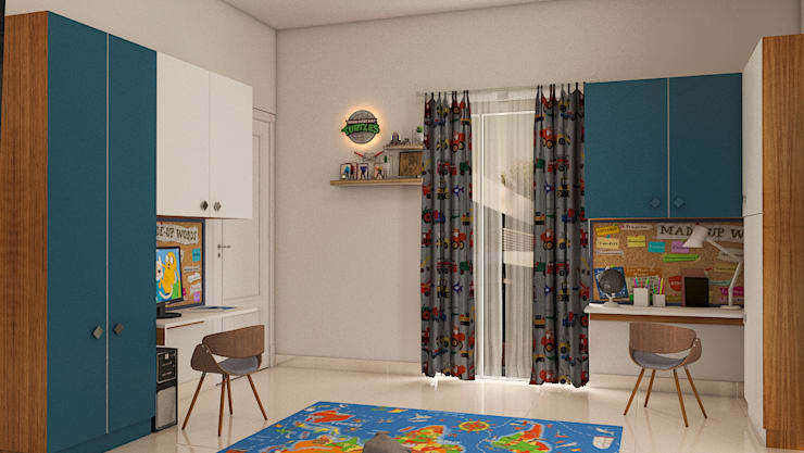 Project:  Nursery/kid's room by Modulart