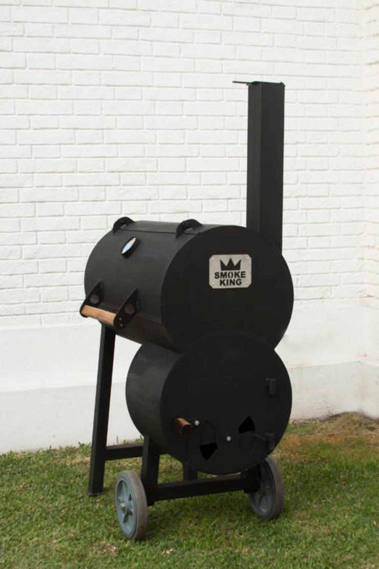 Ahumadora BBQ para el hogar: Hogar de estilo  por Smoke King Ahumadoras