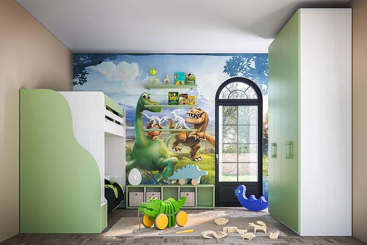 Furlan cameretta per bambino: Camera ragazzi in stile  di ROOM 66 KITCHEN&MORE