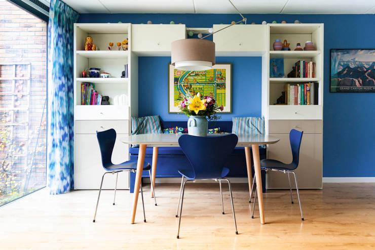 Eethoek:  Eetkamer door Regina Dijkstra Design, Eclectisch