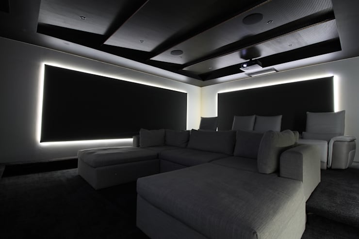 Cinema Seating:  Electronics by Audio Visual Projects (PTY) Ltd,