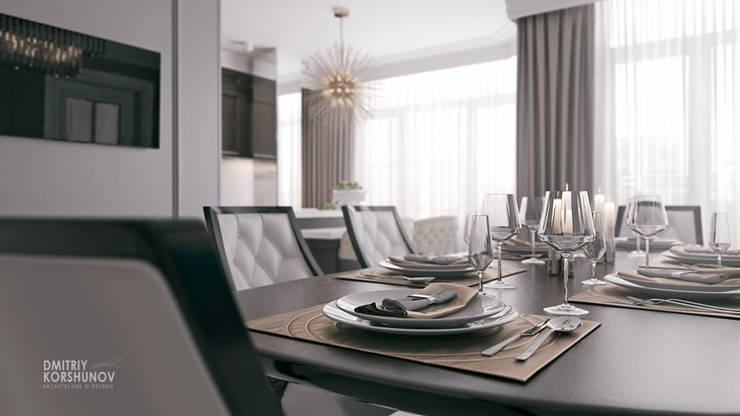 ЖК «Шуваловский» | Residential complex «Shuvalovskii»: Столовые комнаты в . Автор – Дмитрий Коршунов
