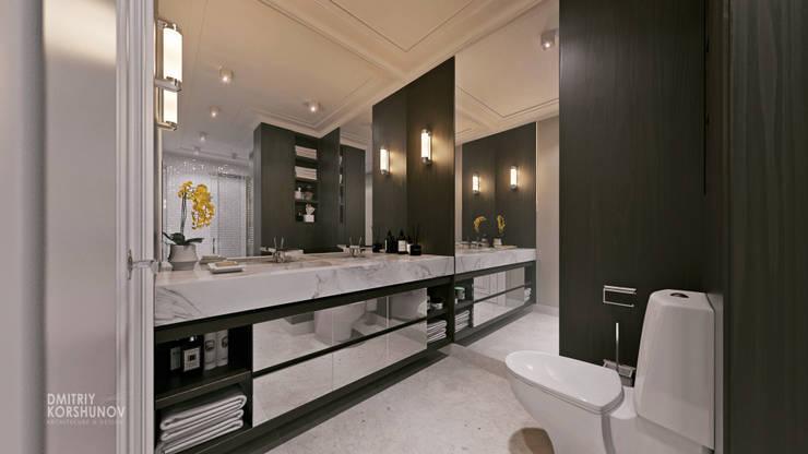ЖК «Шуваловский»   Residential complex «Shuvalovskii»: Ванные комнаты в . Автор – Дмитрий Коршунов