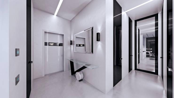 ЖК «Арт резиденс» | Residential complex «Art residence»: Коридор и прихожая в . Автор – Дмитрий Коршунов