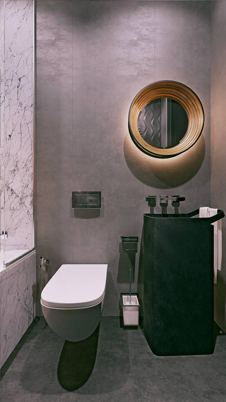 ЖК «Арт резиденс» | Residential complex «Art residence»: Ванные комнаты в . Автор – Дмитрий Коршунов