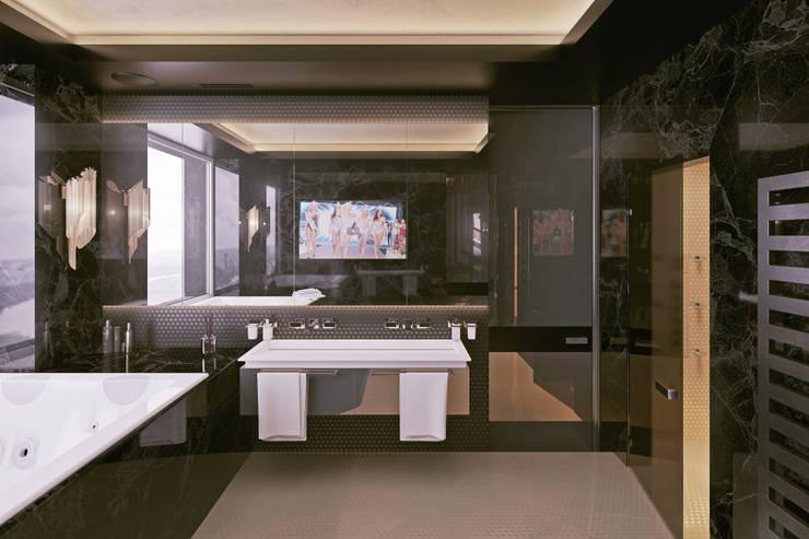 ЖК «Алые паруса» | Residential complex «Alie Parusa»: Ванные комнаты в . Автор – Дмитрий Коршунов