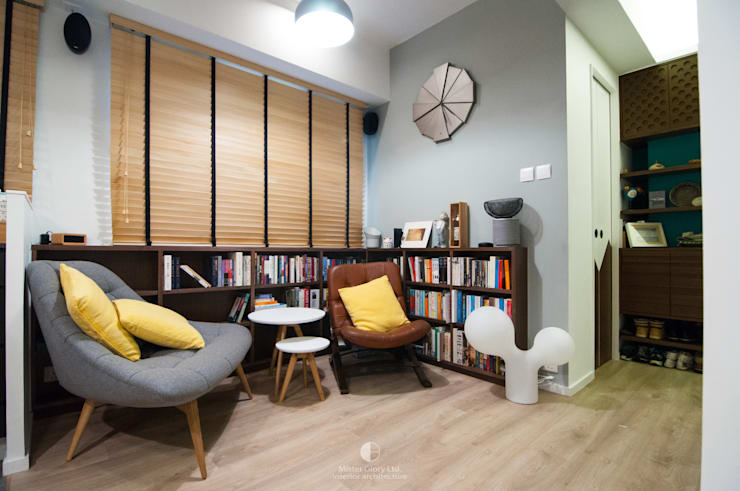 2:  Living room by Mister Glory Ltd, Modern