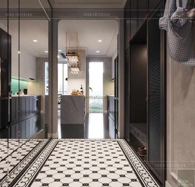 Thiết kế phong cách Đông Dương cùng sắc xanh độc đáo – Park Hill:  Cửa ra vào by ICON INTERIOR