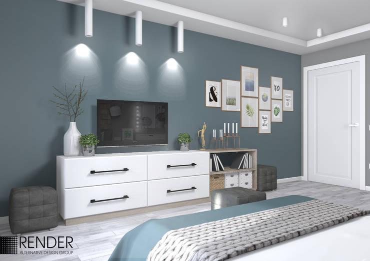Habitaciones de estilo  por RENDER