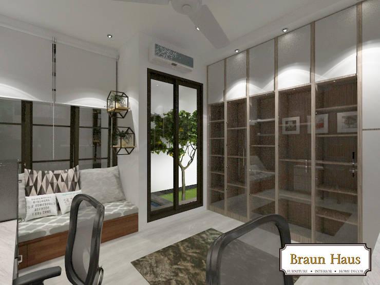 Urban House:  Ruang Kerja by Braun Haus