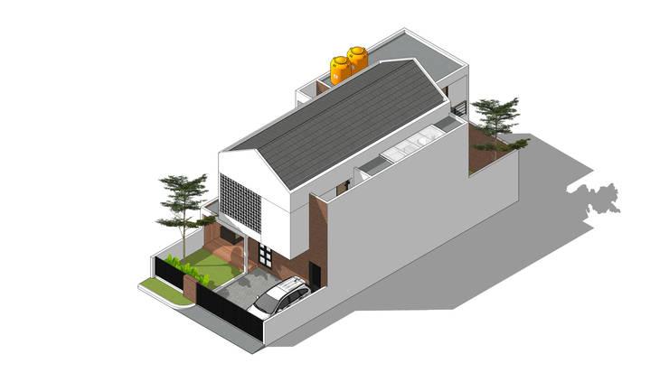 Isometric: Rumah tinggal  oleh Rekabentuk ID, Modern Beton